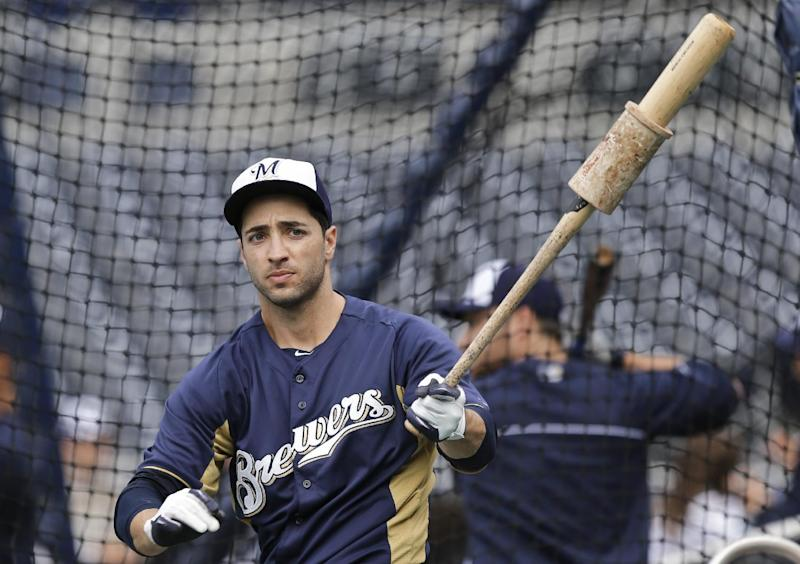 Braun homers in first at-bat back from drug ban
