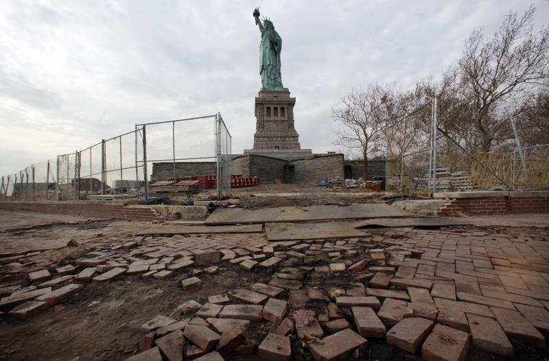 Lady Liberty reopening July 4, months after Sandy