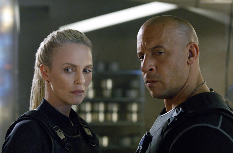 Charlize Theron 'humbled' by huge success of The Fate of the Furious