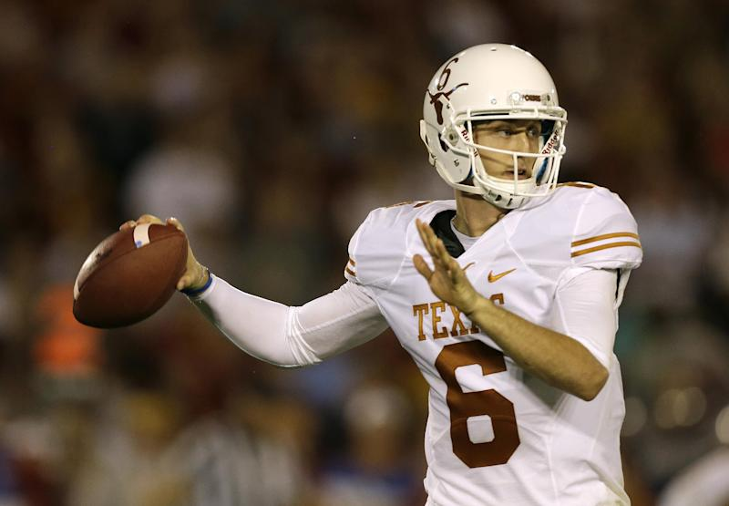 McCoy sees Oklahoma game a chance to create legacy