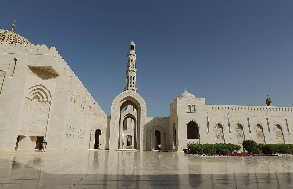 "<p>MUSCAT, OMAN:  The awe-inspiring Sultan Qaboos Grand Mosque in Muscat, Oman, is built from 300,000 tonnes of Indian sandstone. It took six years and four months to build and was finished in 2001. It can accommodate a maximum of 20,000 worshippers including a separate prayer hall for women. The Grand Mosque has the second-largest prayer carpet and chandelier in the world.</p> <p>Read more: <a title=""Travelogue on Oman"" href=""http://in.lifestyle.yahoo.com/seven-priceless-experiences-in-oman-093301912.html"" target=""_blank"">Seven priceless travel experiences in Oman</a></p>"