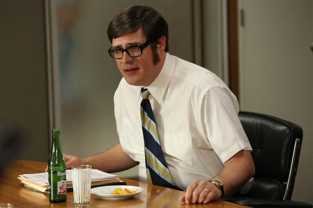 """Harry Crane (Rich Sommer) in the """"Mad Men"""" episode, """"The Better Half."""""""