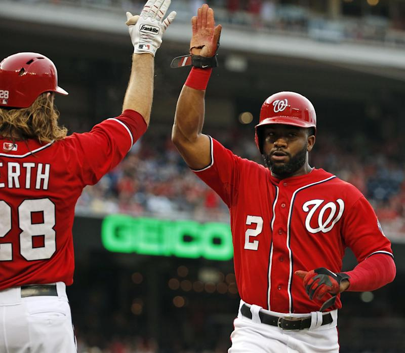 Nationals bats come alive in 11-0 rout of Phillies