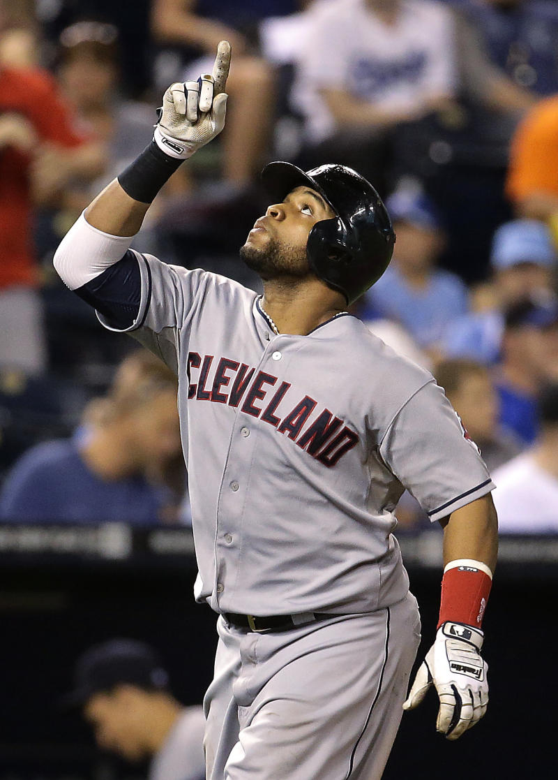 Santana homers again in KC, helps Indians win