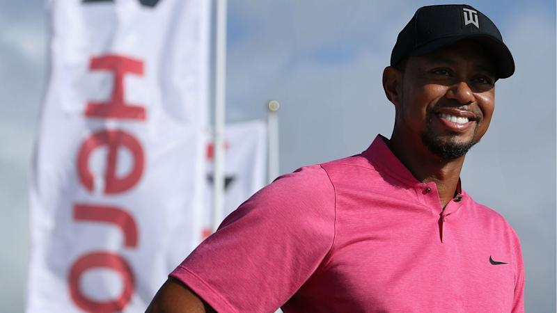 Tiger Woods counts it a success that he's playing golf again