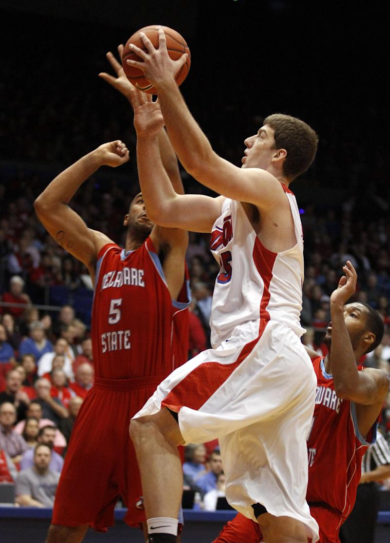 No. 25 Dayton shakes off Delaware State, 56-46