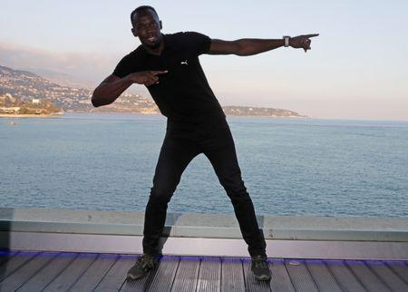 Usain Bolt is 'CEO' of Mumm champagne
