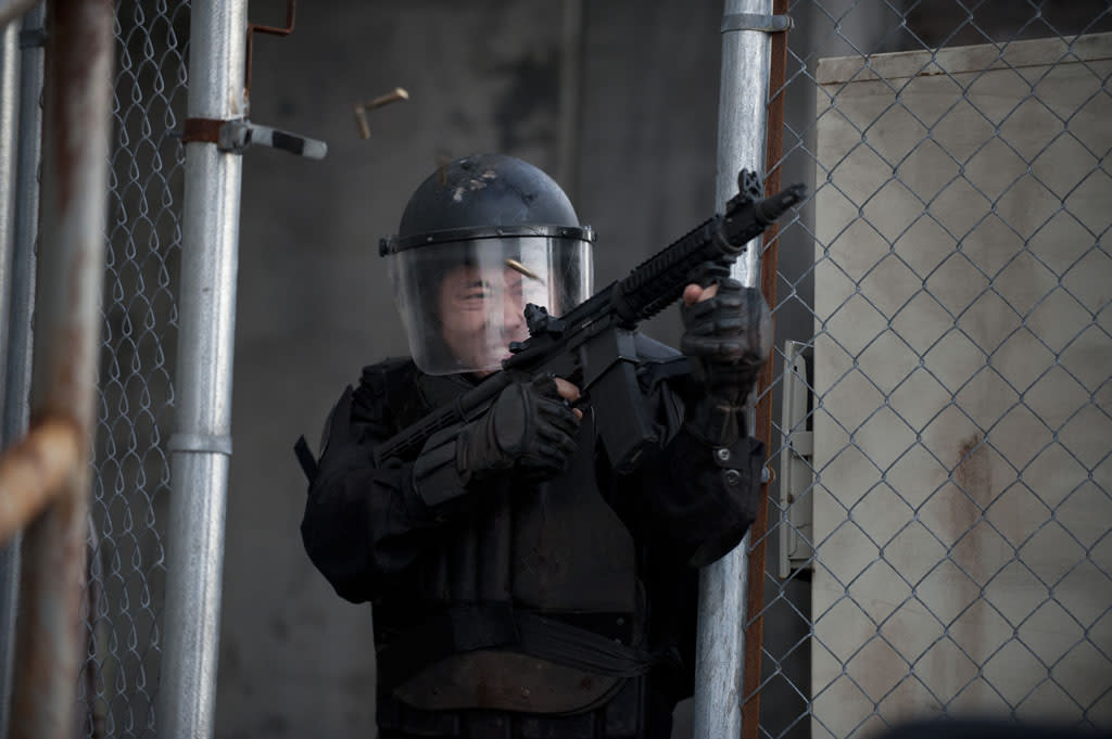"Glenn (Steven Yeun) in ""The Walking Dead"" Season 3 Finale, ""Welcome to the Tombs."""