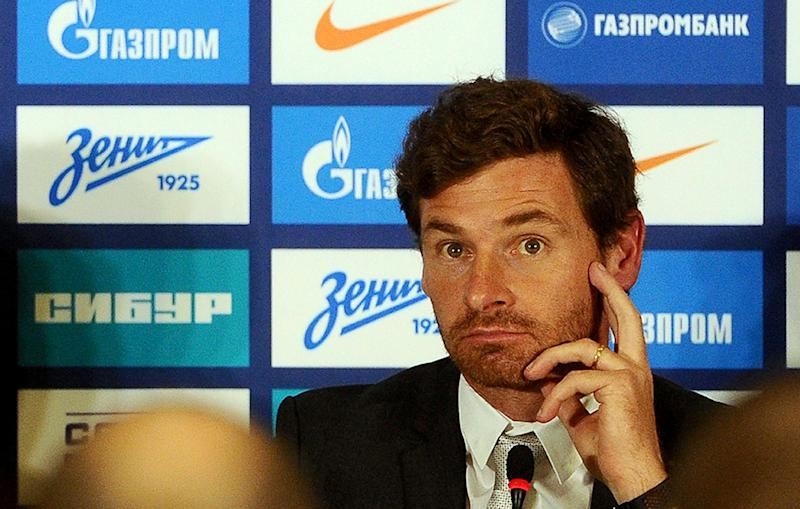 FC Zenit St. Petersburg's head coach Andre Villas-Boas attends a press conference in St. Petersburg, on March 20, 2014