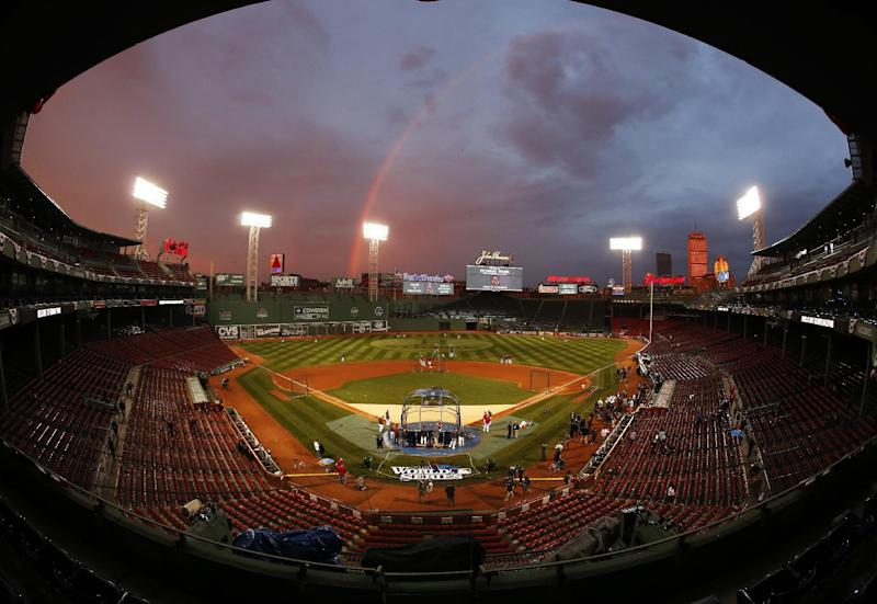 With Red Sox in World Series, TV ratings rebound