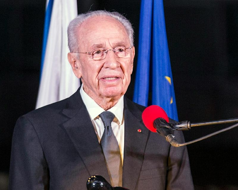 Former Israeli President Peres hospitalized with 'brain-related event'