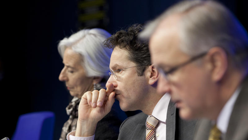 A look at the eurozone's 5 bailouts