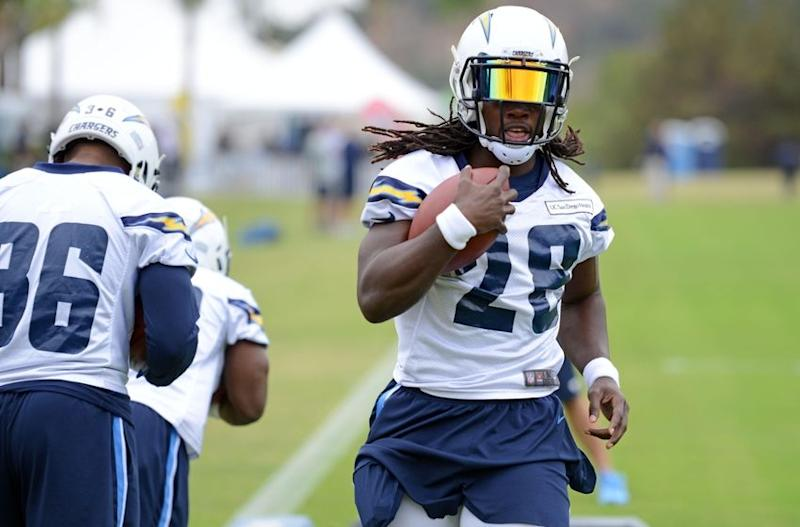 NFL Jersey's Pro Line Mens San Diego Chargers Melvin Gordon Big & Tall Team Color Jersey