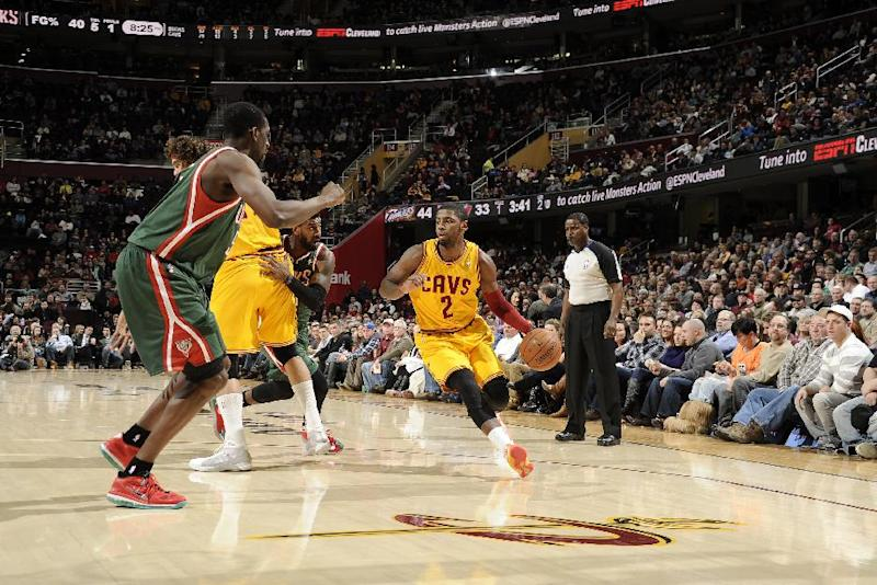 Varejao, Irving lead Cavaliers past Bucks 93-78