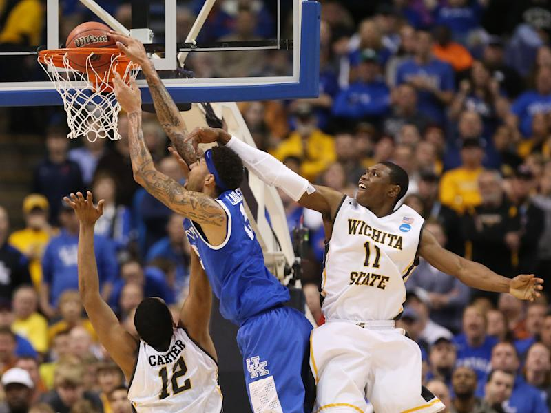 Shockers' memorable season ends early in tourney