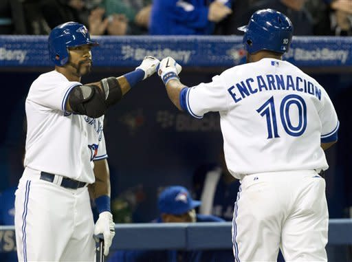Drabek, Encarnacion lead Jays over Red Sox 7-3