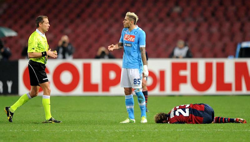 Napoli penalized 2 points for match-fixing