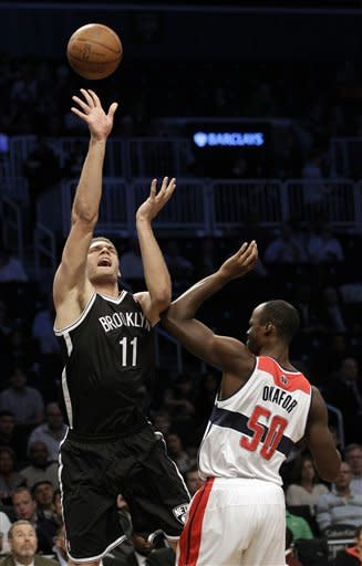Nets beat Wizards in first game in Brooklyn