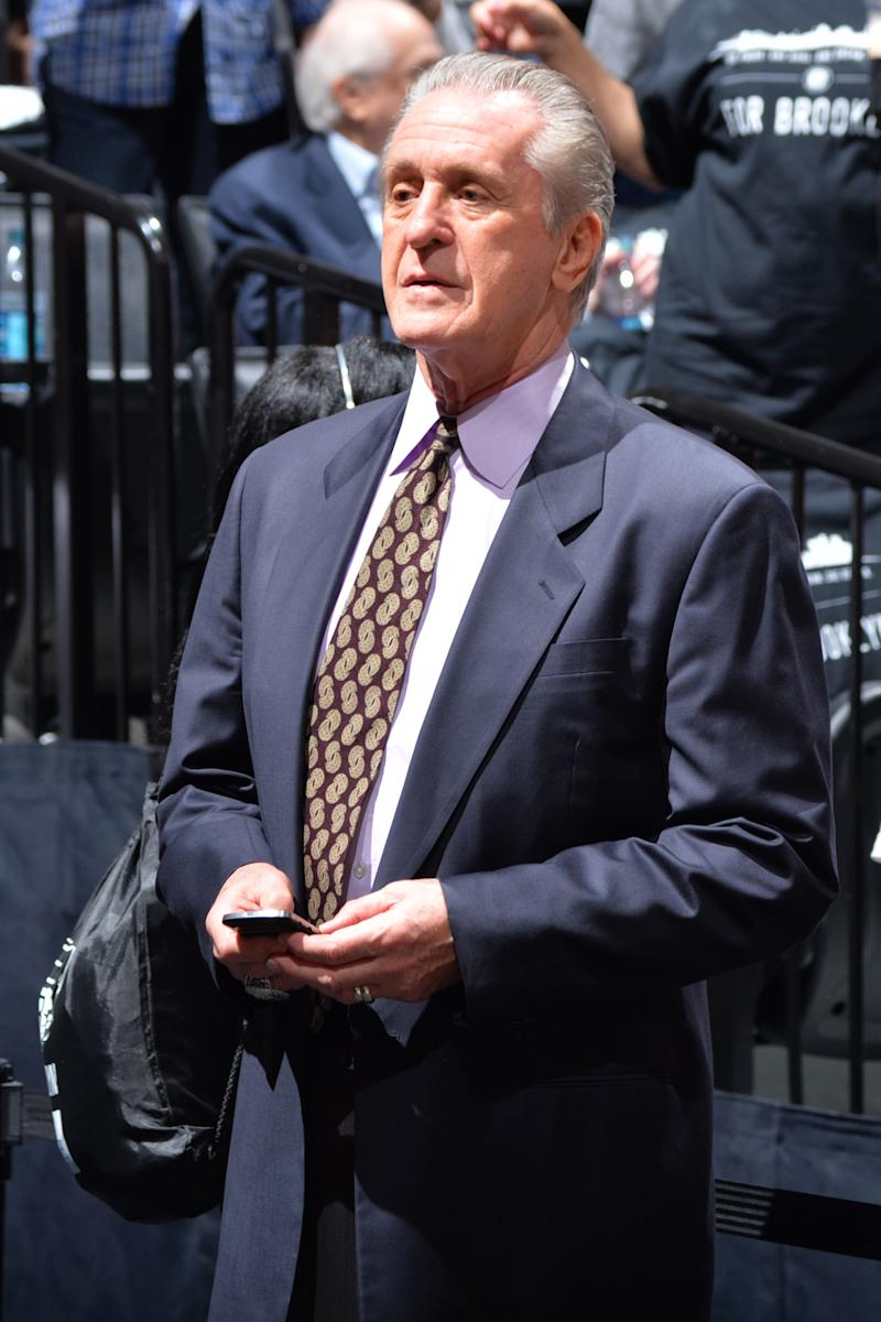 Riley speaks out, insists Heat will be competitive