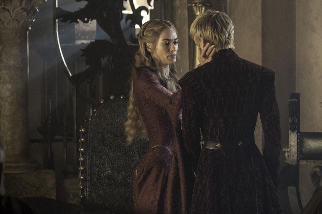 """Lena Headey and Jack Gleeson in the """"Game of Thrones"""" Season 3 finale, """"Mhysa."""""""