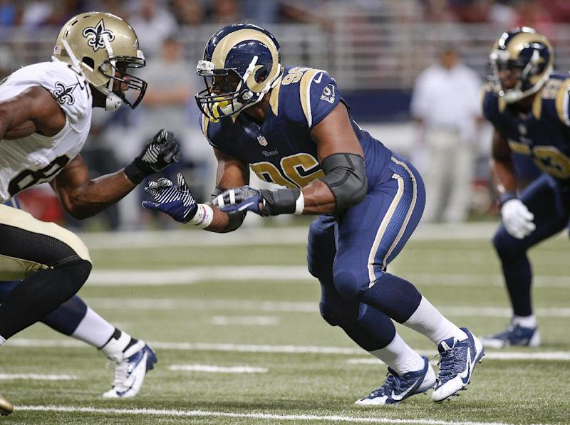 Saints beat Rams 26-24