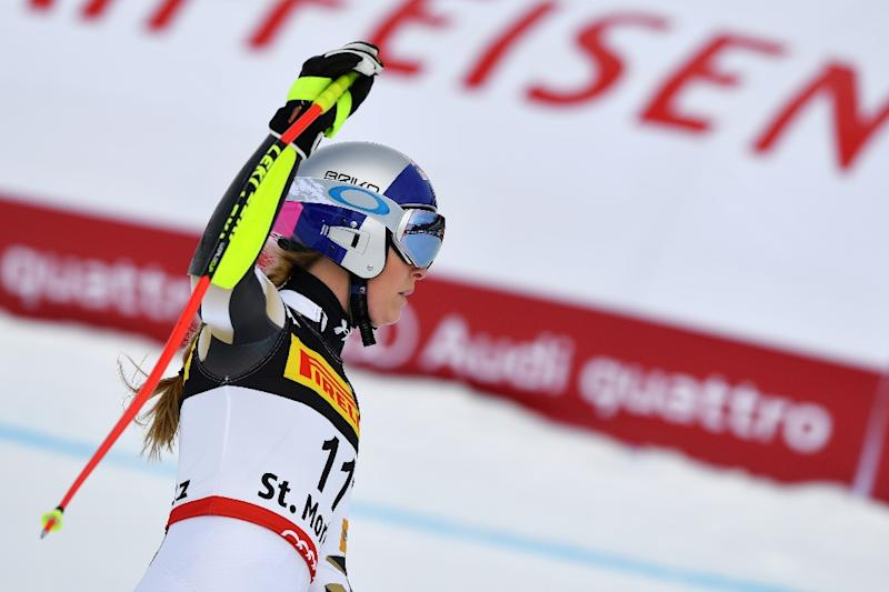 Swiss one-two in ladies combined, but Gut crashes out