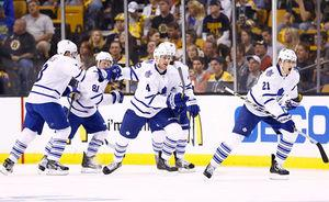 Maple Leafs dealing with playoff growing pains