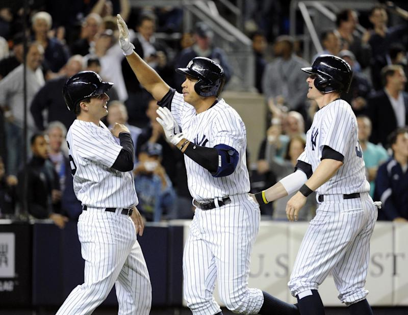 A-Rod sets slam record with 24th of career