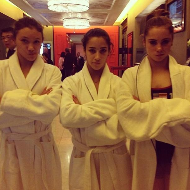 The pool is closed... #notimpressed @McKaylaMaroney