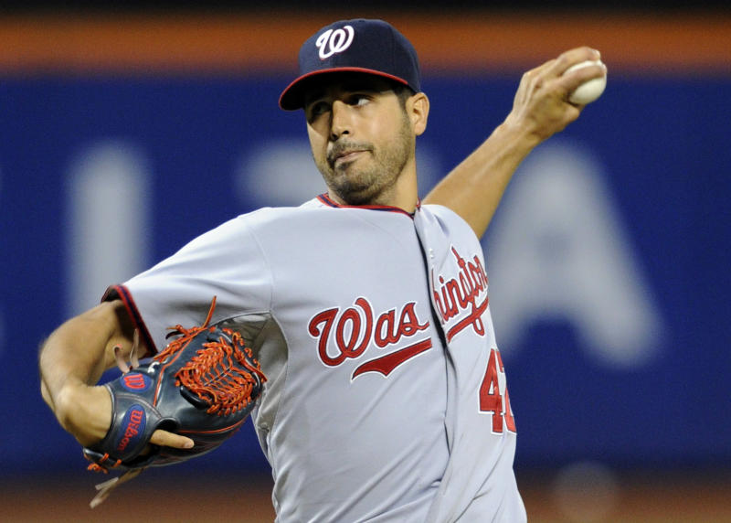 Gio Gonzalez throws 1-hitter, Nats rout Mets 9-0