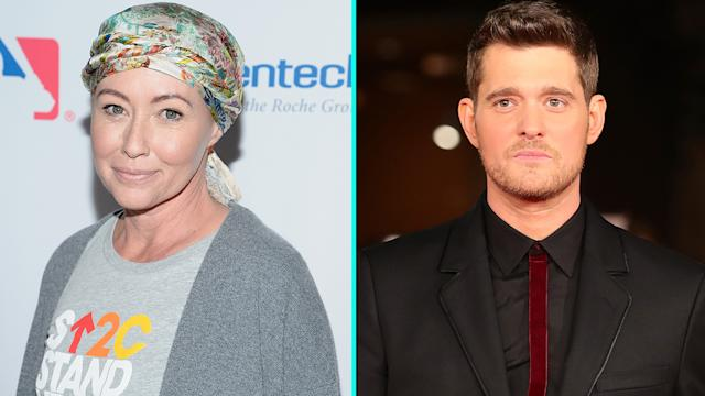 Shannen Doherty's message for Michael Buble