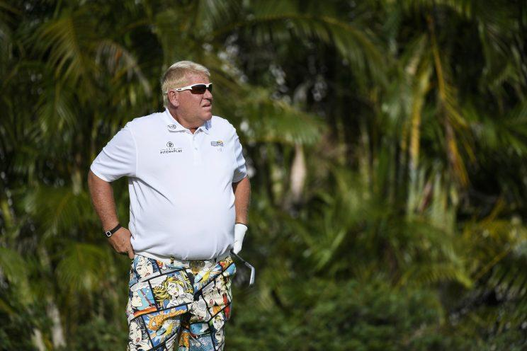 John Daly tosses putter in lake then WDs