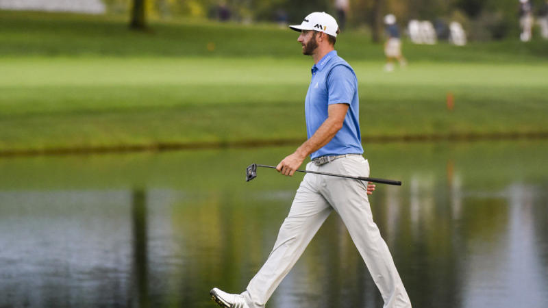 Dustin Johnson Switches To New Putter At Bmw Championship