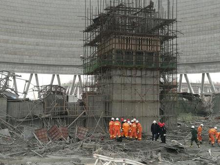 13 in custody in E. China construction site collapse