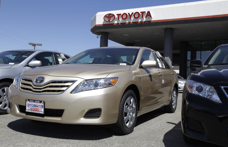 Camry in battle to stay America's best-selling car