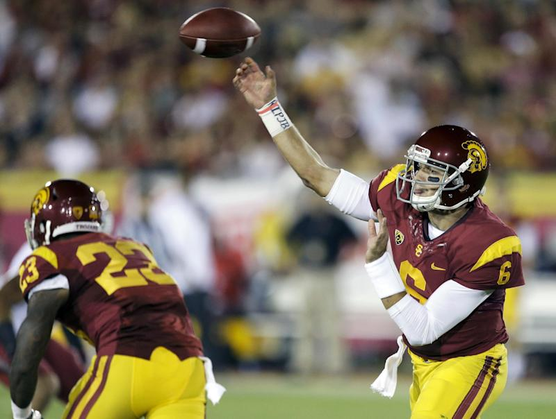 USC QB Cody Kessler glad to be finished sharing