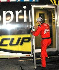 In NASCAR, probation is a good thing