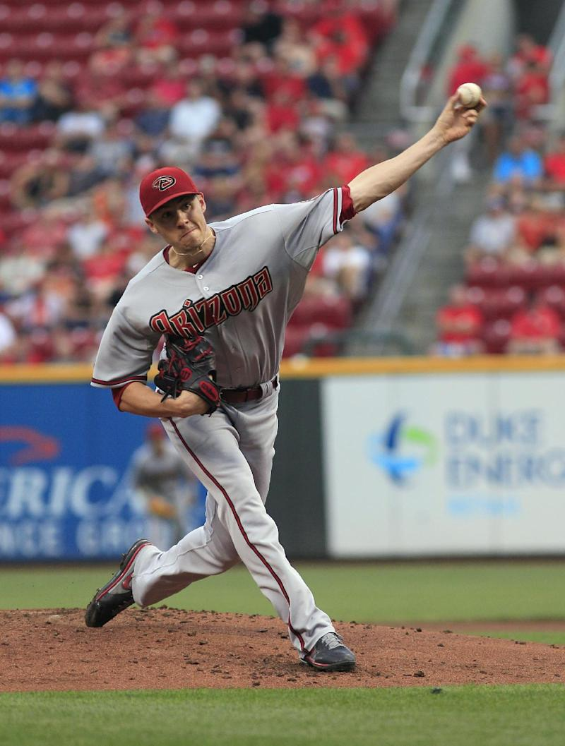Goldschmidt's 3rd slam sends Dbacks over Reds 5-2