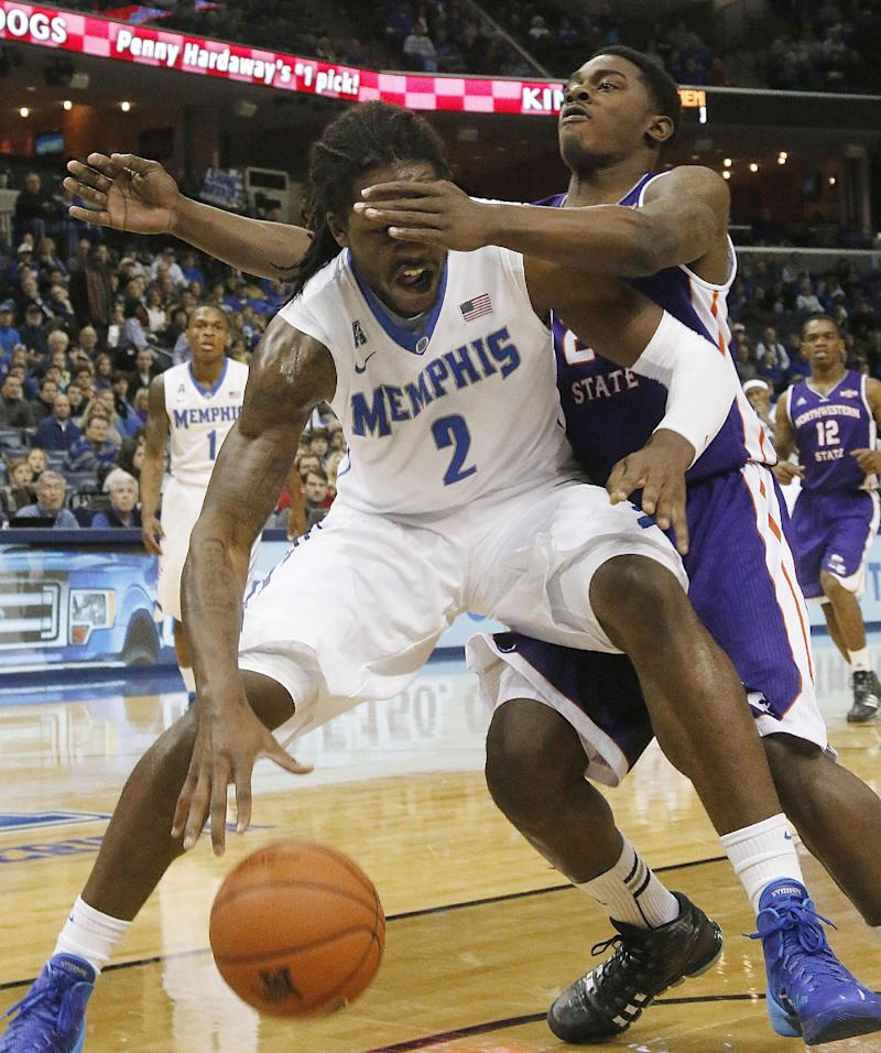 No. 16 Memphis defeats Northwestern State 96-76