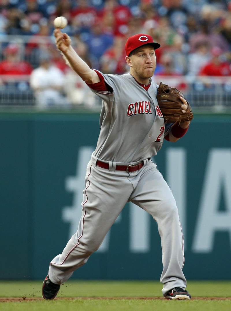 Frazier's homer lifts Reds over Nats 4-3 in 15