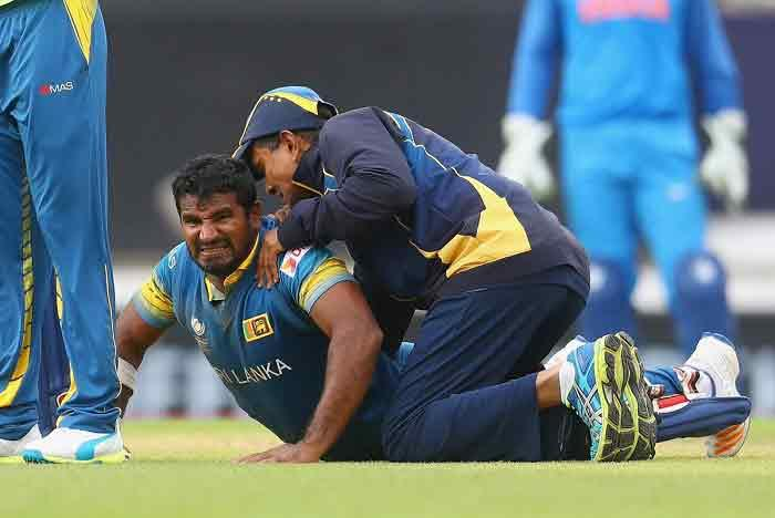 Colombo June 11 All-rounder Dhananjaya de Silva has been called to replace injured wicketkeeper-batsman Kusal Perera in the Sri Lankan cricket squad at the Champions Trophy