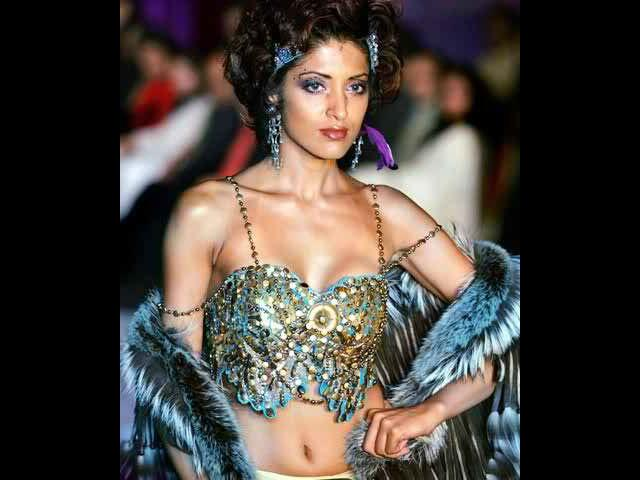 <b>10. Jesse Randhawa</b><br> Jesse is also known as the runway tigress. Her magnanimous presence at the ramp overshadows all others. Married to choreographer Sandeep Soparkar, Jesse has also evolved to become a great dancer. Modelling or dancing, Jesse knows how to do it best.