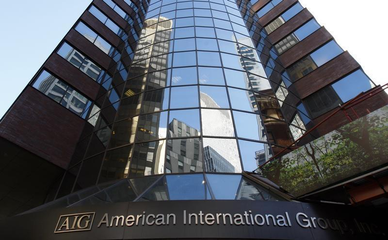 Headquarters of American International Group Inc. (AIG) in New York