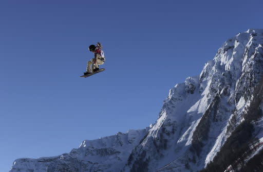 Shaun White withdraws from Olympic slopestyle