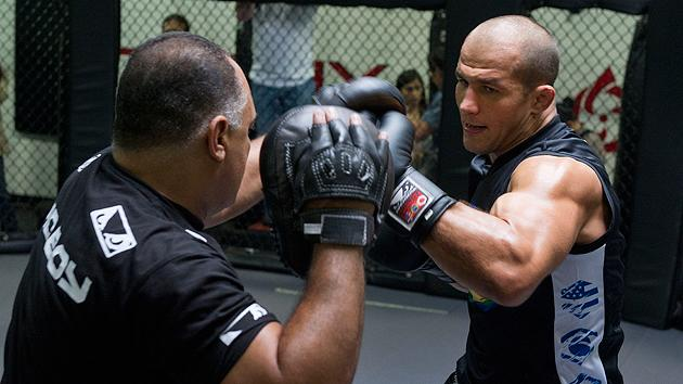 The reigning UFC heavyweight champion talks about his relationship with his trainers.