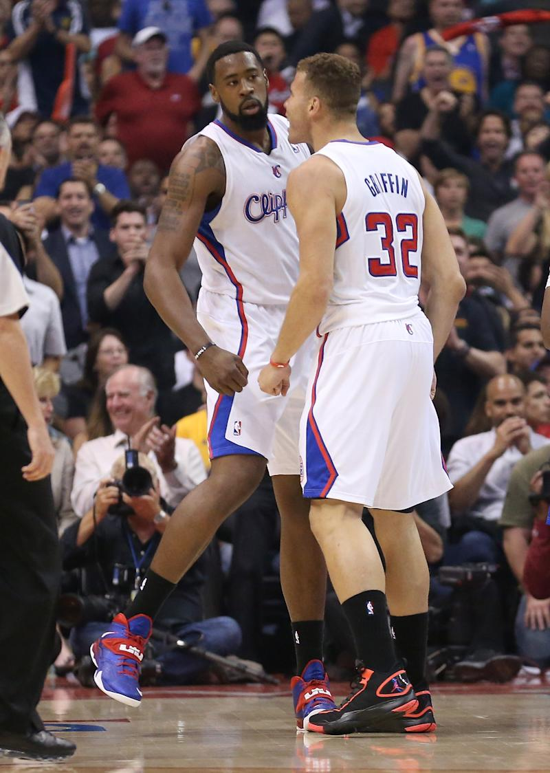 Jordan, Paul lead Clippers over Warriors, 113-103