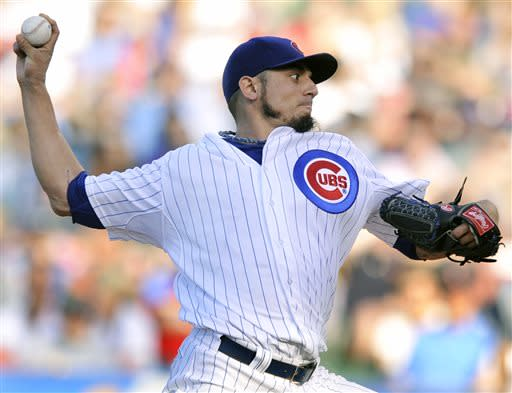 Garza pitches Cubs to 6-4 victory over Cardinals