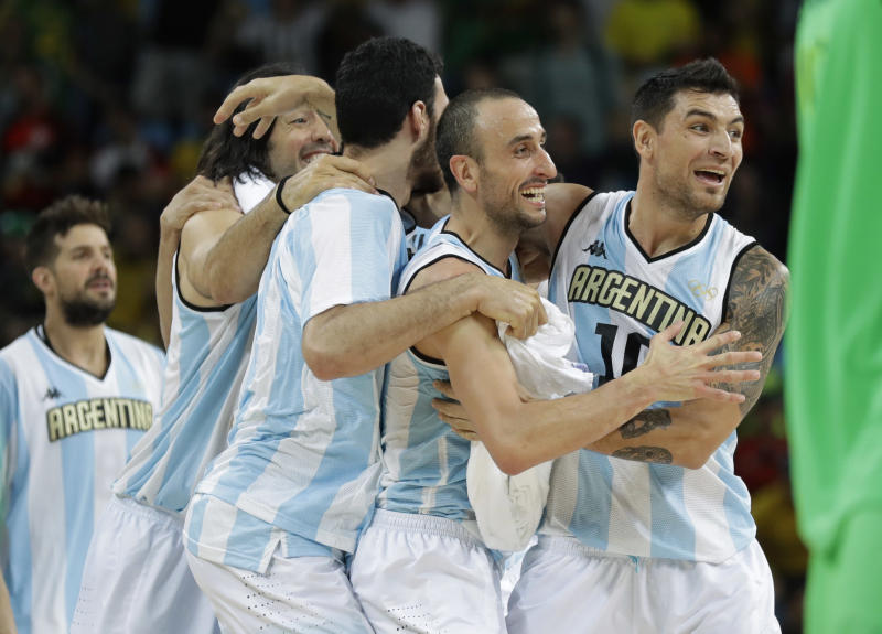 Argentina beats Brazil 111-107 in Olympic double-OT thriller