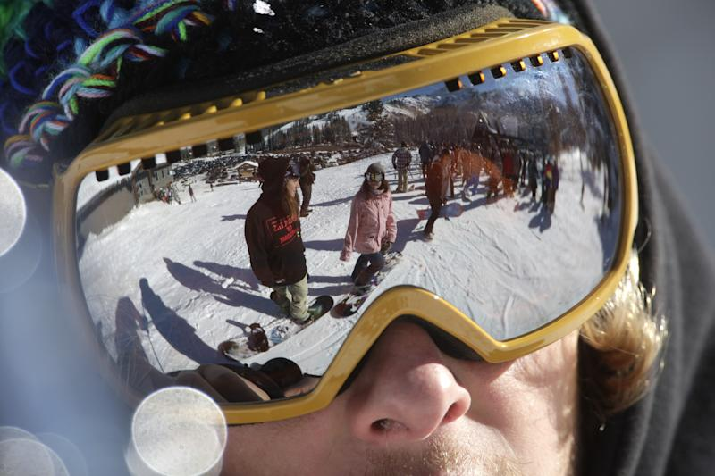 Deep snow at Utah resorts is change from last year