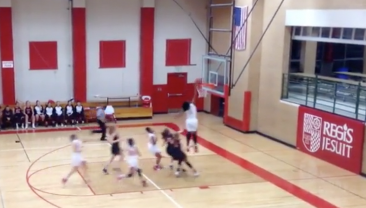 Sophomore becomes first Colorado high school girl to dunk in game